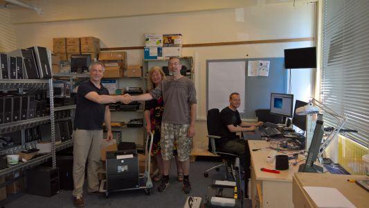 Printer doneren voor St. Karakter in de eigen wijk